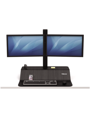 Lotus VE Sit-Stand Workstation - Dual