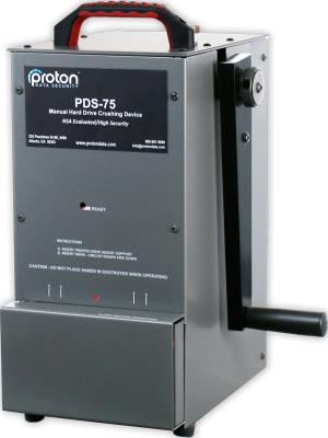 Proton PDS-75 Hard Drive Destroyer/Crusher