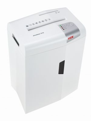 HSM Shredstar X10 Cross Cut Shredder